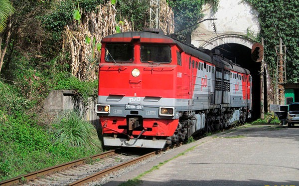 Москва абхазия сколько ехать на поезде