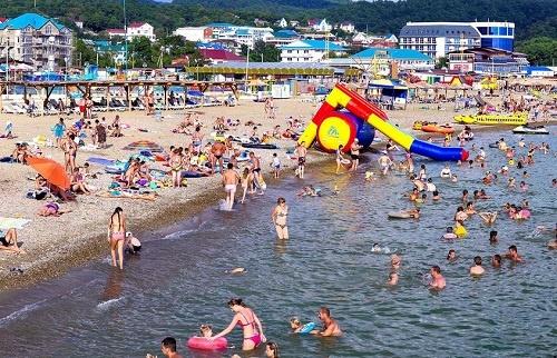 Пляж подходит для детей