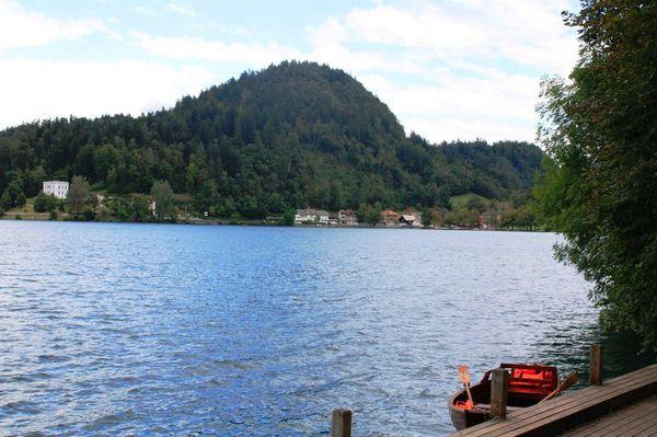 Достопримечательнсоть в Словении озеро Блэд