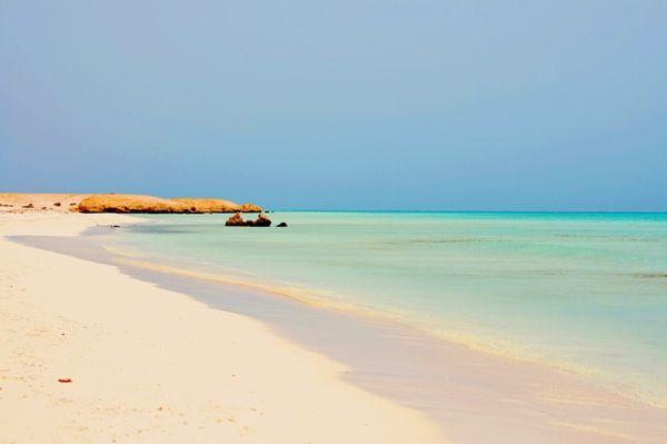Красивые пляжи с белым коралловым песком