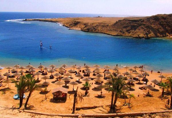 Обзор пляжа отеля AL NABILA GRAND RESORT в Макади Бей