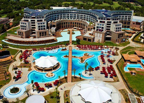 Курорт Белек в начале сезона, отель KAYA PALAZZO RESORT пятизвездочный