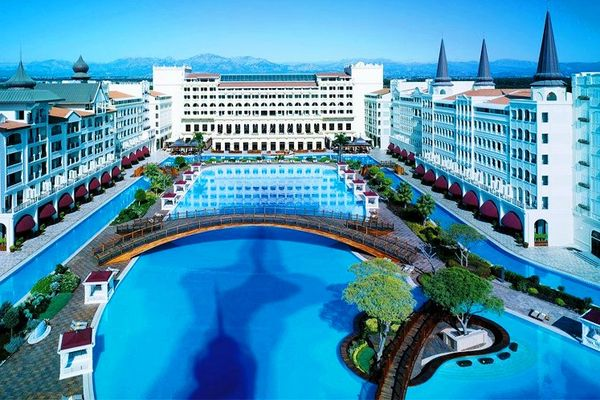 Отель Mardan Palace в Анталии пятизвездочный