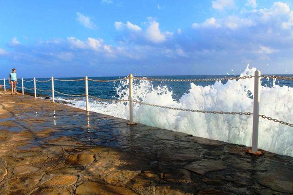 Причал у моря в Алании
