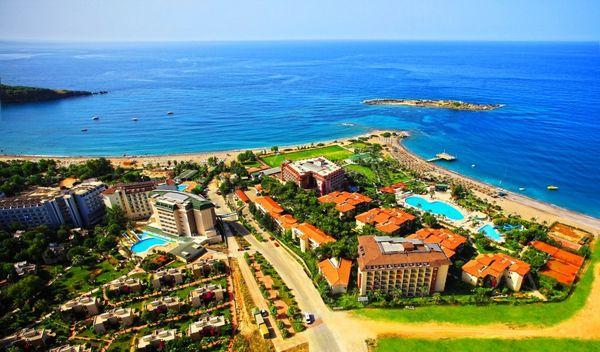 Пляжный поселок в Алании, Турция