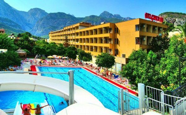 Отель SELCUKHAN среди классных гор в Кемер в августе