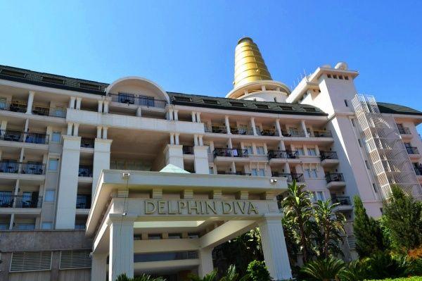 Отель пять звезд DELPHIN DIVA PREMIERE в Анталии