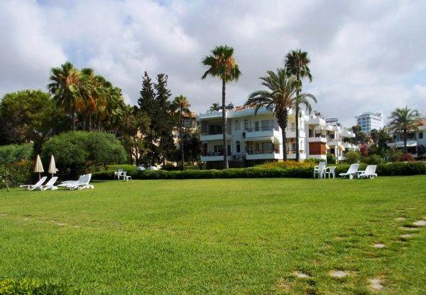 Отель пять звезд на курорте в Сиде в сентябре