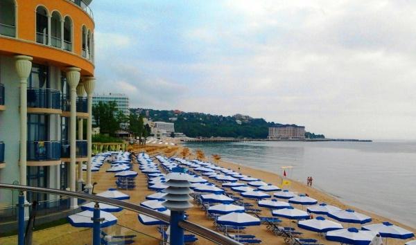 Пляж черного моря