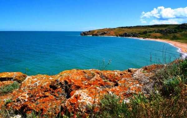 Генеральские пляжи, курорт Керчь на Крымском полуострове