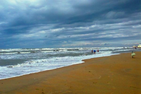 Пляж курорта Анапы в России