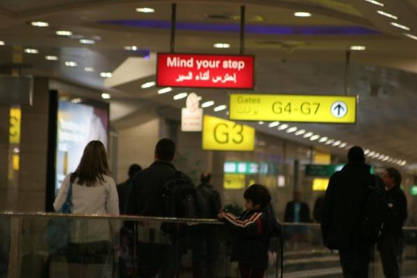 Международный аэропорт в Каире