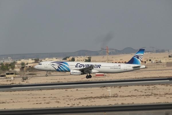 Взлетная полоса аэропорта Хургада