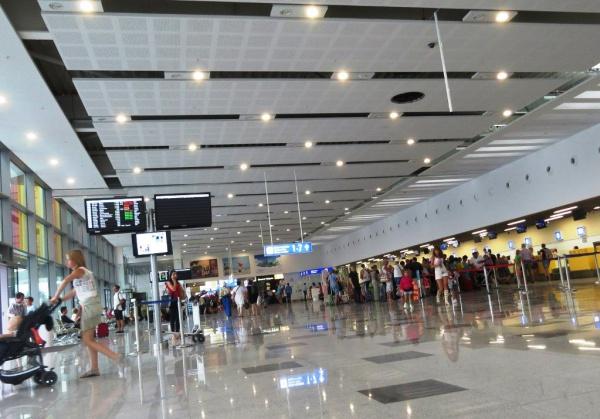 Международный аэропорт в Варне