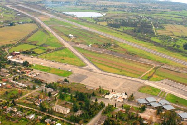 Заброшенный аэропорт в Абхазии