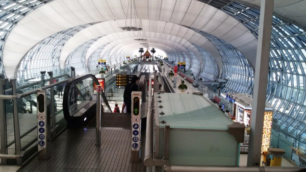 Международный аэропорт в Бангкоке