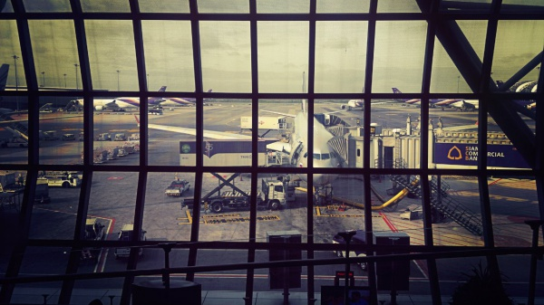 "Аэропорт в столице Тайланда ""Суварнабхуми"""