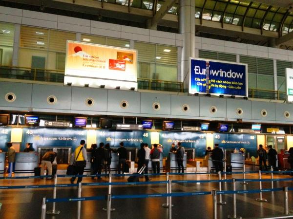 Международный аэропорт в Ханое