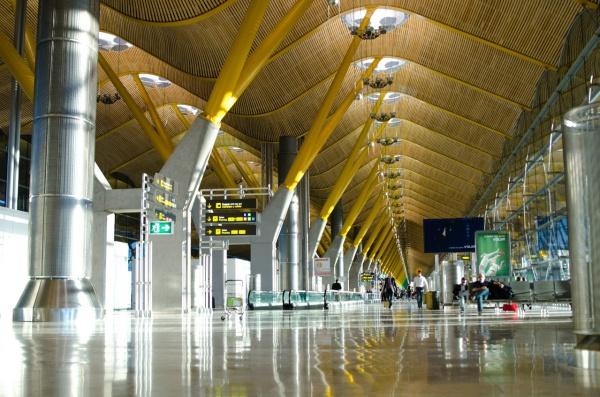 Удивительный аэропорт в Мадриде