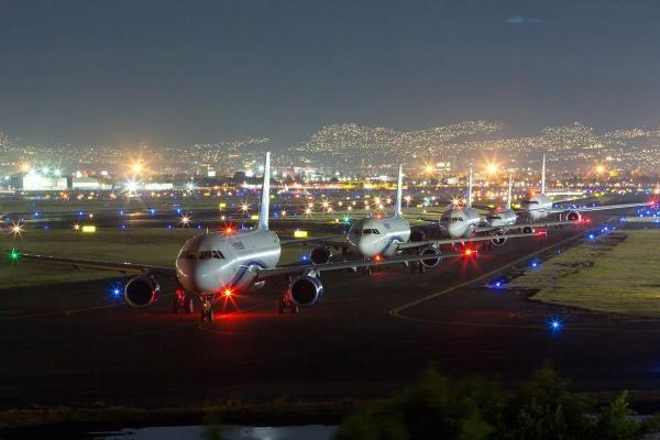 Бенито Хуарес, аэропорт Мехико в Мексике
