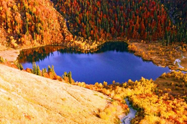 Красная поляна в Сочи осенью