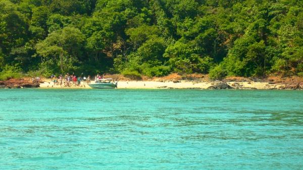 Дикий пляж на экскурсии в Патайе