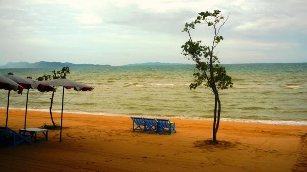 Пляж острова Патайя в Тайланде