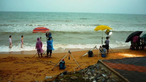 Пляж острова-курорта Патайя, съемки сериала