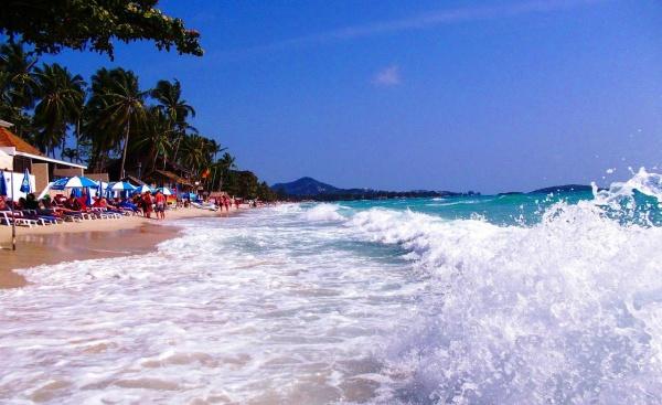 Тайланд, остров Самуи и пляж Чавенг, классные волны