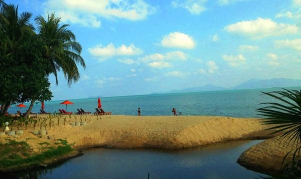 Тайланд, остров Самуи, фото пляжа и заводи