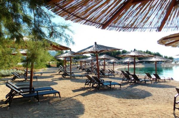 Пляж Шибеник Хорватия, комплекс Солярис