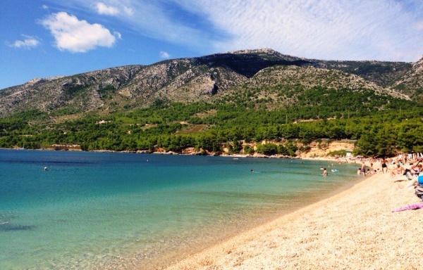 Знаменитый пляж Хорватии Золотой рог