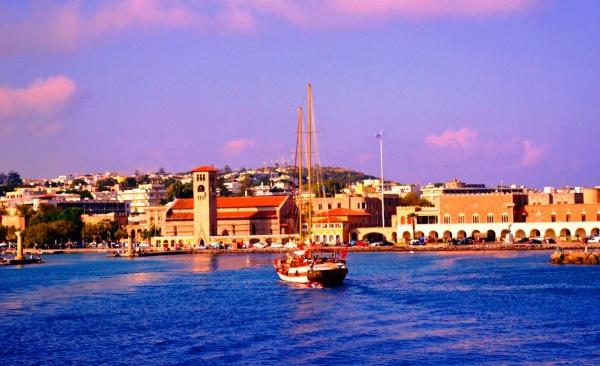 Залив острова Родос