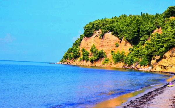 Приотельный пляж в Халкидиках