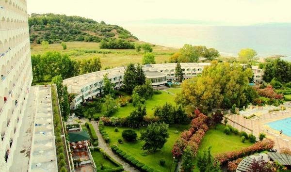 """Отеля """"АТОС"""" город Калифей, вид на побережье Эгейского моря"""