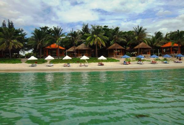 Пляж курорта Заклет во Вьетнаме