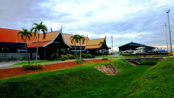 Международный аэропорт Сием-Риеп, Камбоджа