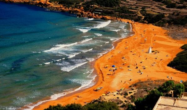 Остров Гозо и отличный пляж