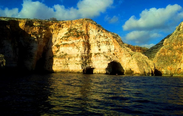 Голубой Грот на острове Мальта