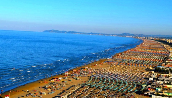 Пляжи города-курорта Римини