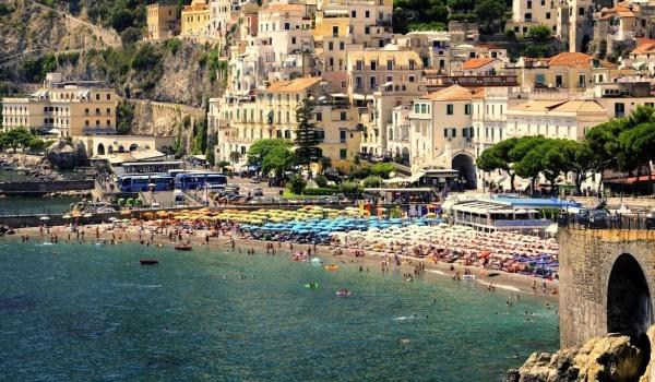 Западное побережье в районе Неаполя