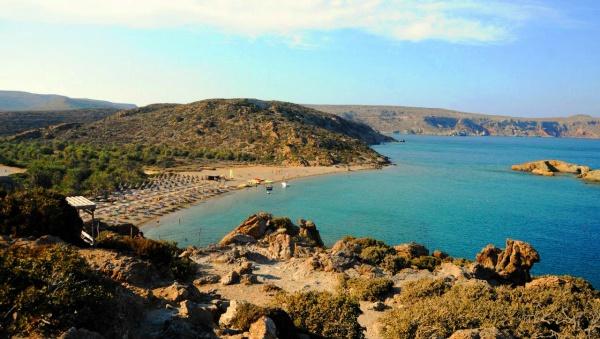 остров Крит, пляж Вай