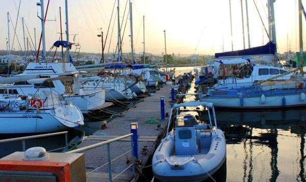 Город-курорт Ретимно и его набережная на Крите
