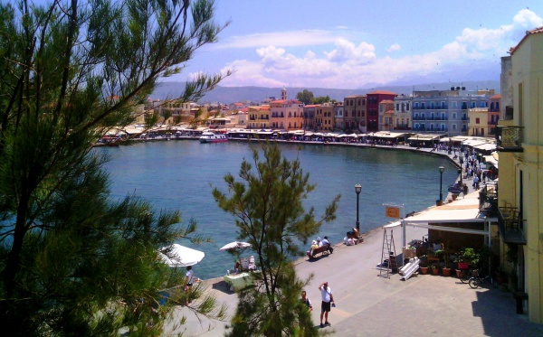 остров Крит, город Ханья и лучшая его набережная