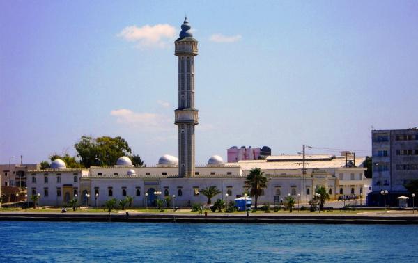 Африка, курорт Бизерта в Тунисе