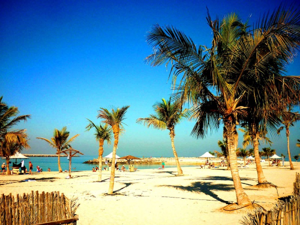 Пляж - Al Mamzar ОАЭ, Дубай