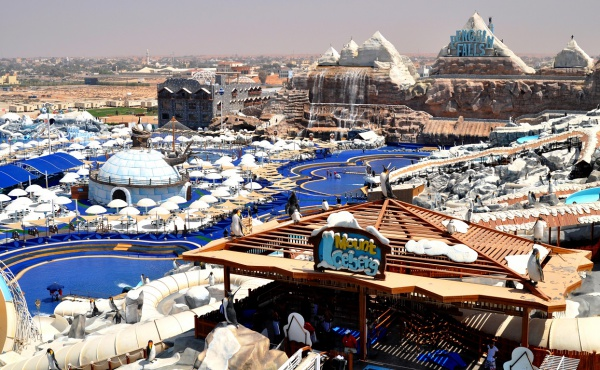 Пингвиний аквапарк Ice Land Water Park, ОАЭ