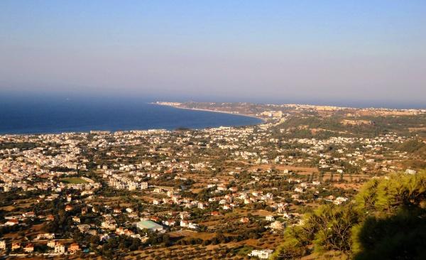 Курорт Родос, просторы острова