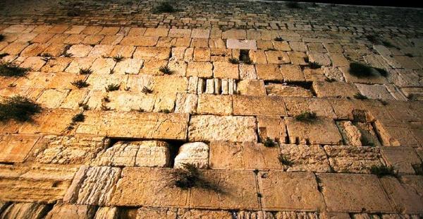 Стена Плача - величайшая святыня иудаизма, место паломничества многих поколений евреев, Израиль