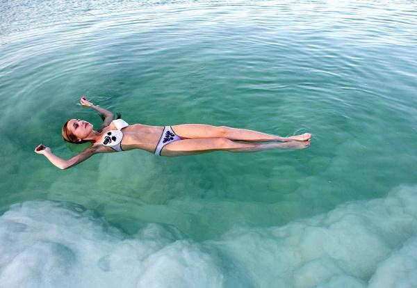 Море в котором невозможно утонуть, Мертвое море, Израиль